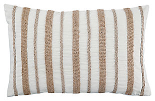 Zackery Pillow, Natural, large