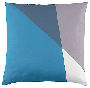 Glendive Pillow, Turquoise, large