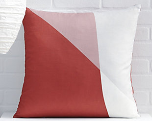 Glendive Pillow, Red, rollover