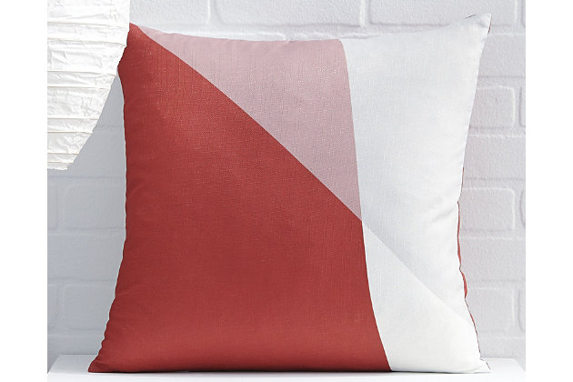 Glendive Pillow by Ashley HomeStore, Red