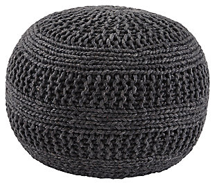 Benedict Pouf, Charcoal, large