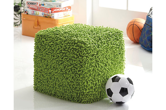 Green Taisce Pouf by Ashley HomeStore
