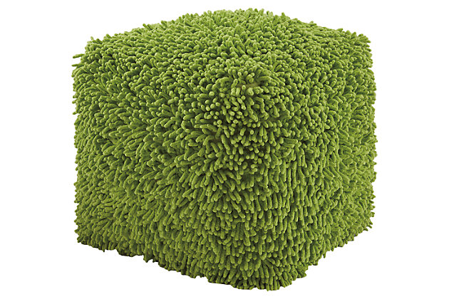 Taisce Pouf by Ashley HomeStore, Green