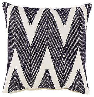 Carlina Pillow, Black, large