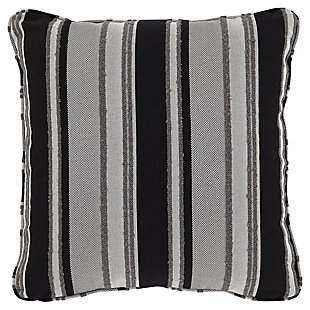 Ashlor Nuvella® Loveseat and Pillows, Slate, large