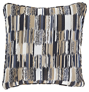 Jadran Pillow, Gray/Brown, large