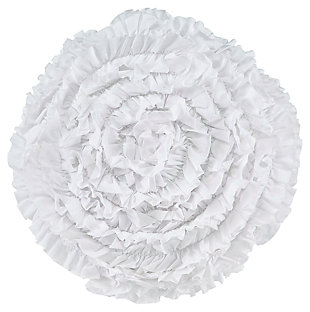 Bloompier Pillow, White, large