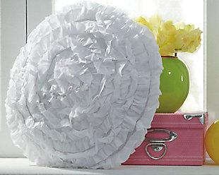 Bloompier Pillow, White, rollover