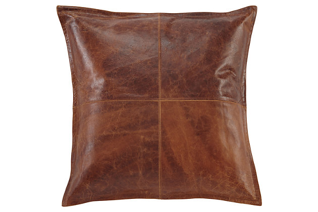 Brennen Pillow and Insert by Ashley HomeStore, Brown
