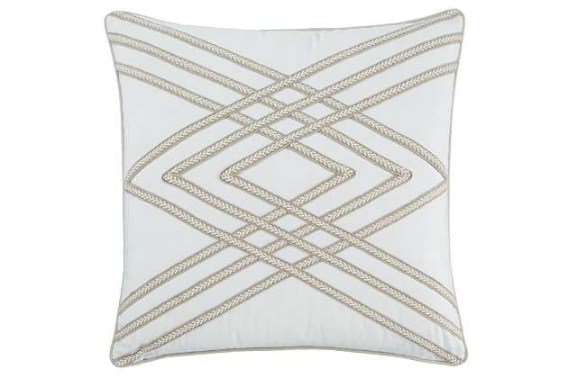 Morrill Pillow and Insert by Ashley HomeStore, Marble