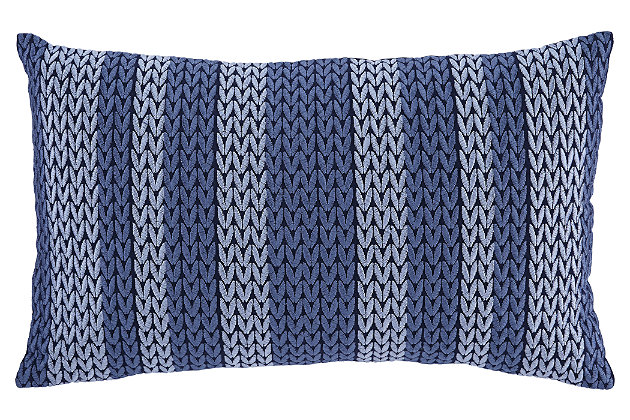 Shumpert Pillow by Ashley HomeStore, Blue, Cotton (100 %)