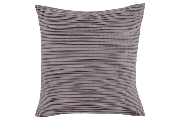 Lestyn Pillow and Insert by Ashley HomeStore, Gray