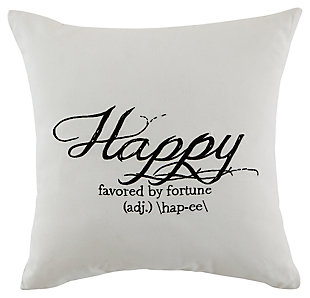 Happy Pillow, , large