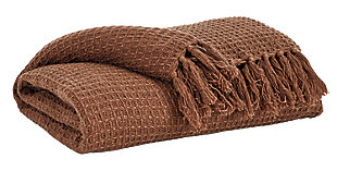 Rowena Throw, Brown, large