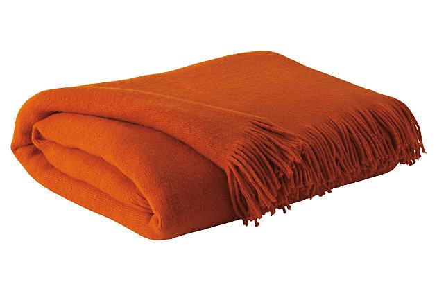 Shiloh Throw by Ashley HomeStore, Orange