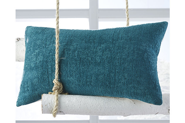 Sondra Pillow by Ashley HomeStore, Turquoise