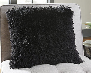 Jasmen Pillow, Black, rollover