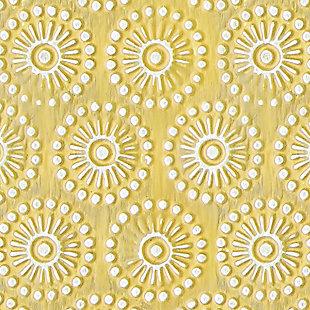 Bansi Photo Frame (Set of 2), Yellow, large