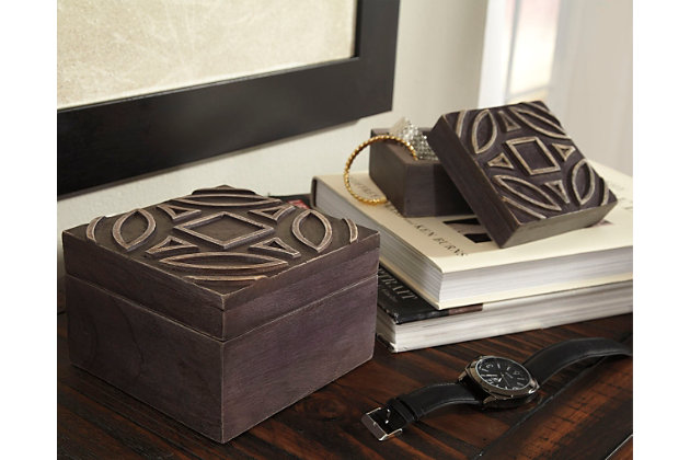 Marquise Box (Set of 2), , large