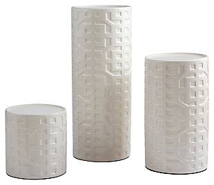 Kael Candle Holder (Set of 3), , large