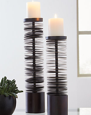 Constance Candle Holder (Set of 2), , rollover