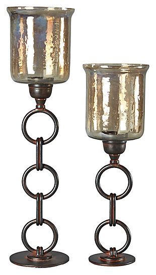 Oana Candle Holder (Set of 2), , large