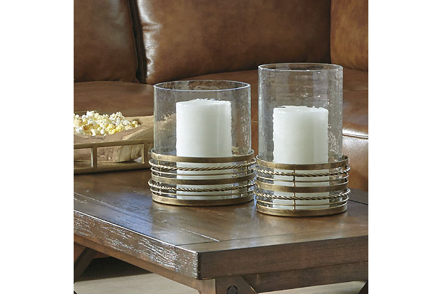 Obaida Candle Holder (Set of 2), , large