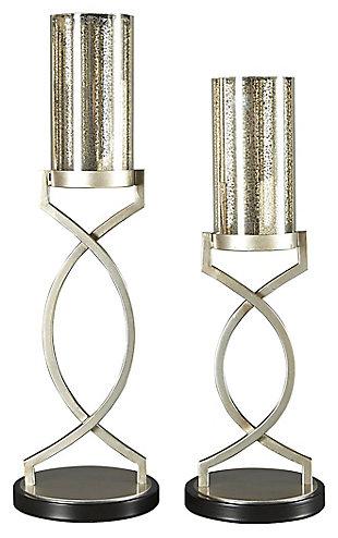 Odele Candle Holder (Set of 2), , large