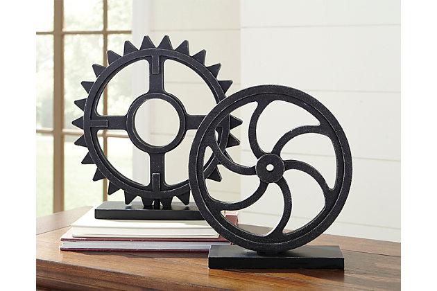 Dermot Sculpture (Set of 2), , large