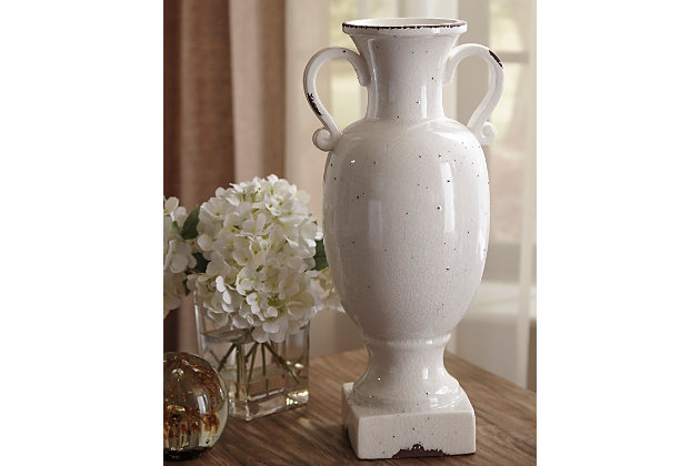 Dierdra Urn by Ashley HomeStore, White