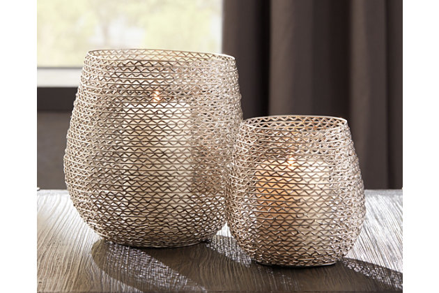Desdemona Candle Holder (Set of 2), , large