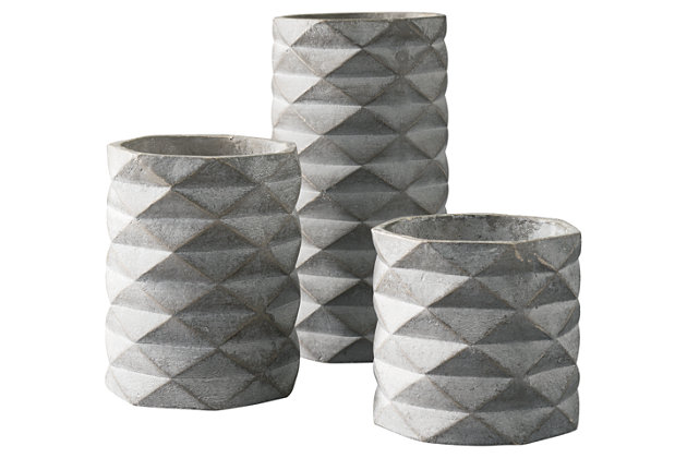 Charlot Vase (Set of 3), , large
