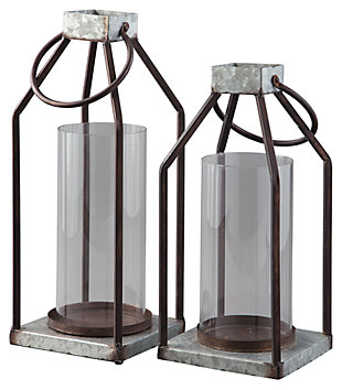 Diedrick Lantern (Set of 2), , large