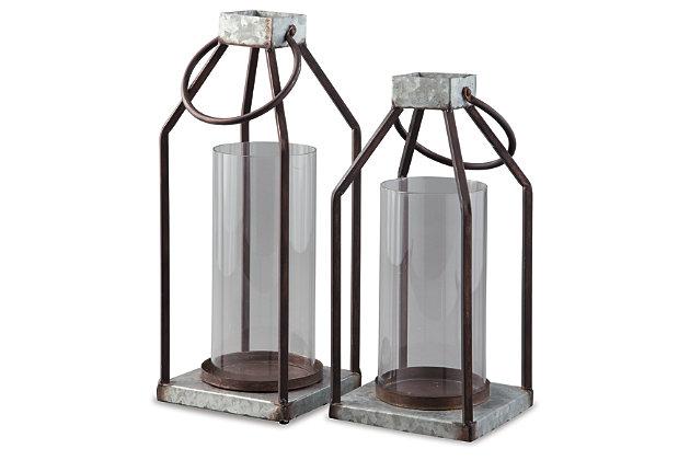 Diedrick Lantern (Set of 2), , large