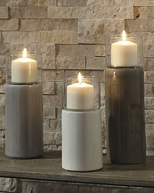 Deus Candle Holder (Set of 3), , rollover