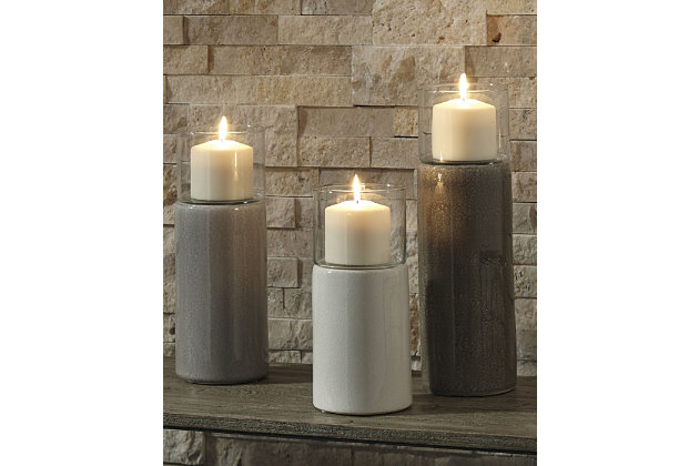 Deus Candle Holder (Set of 3), , large