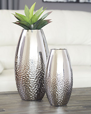 Dinesh Vase (Set of 2), , rollover