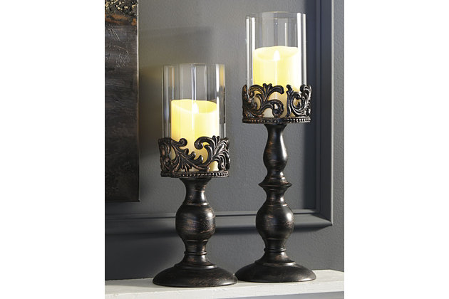 Constance Candle Holder (Set of 2), , large
