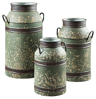 Elke Milk Can (Set of 3), , large