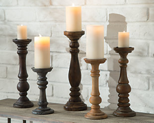 Carston Candle Holder (Set of 5), , large