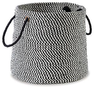 Eider Basket, Black, large