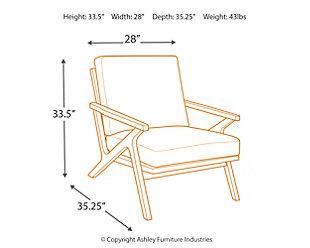 Wavecove Accent Chair, , large