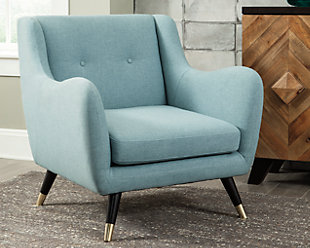Menga Accent Chair, Mist, rollover