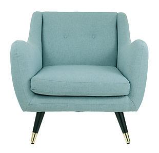 Menga Accent Chair, Mist, large