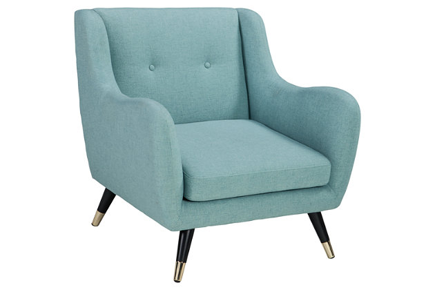 Menga Accent Chair, Mist, large