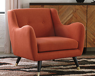 Menga Accent Chair, Adobe, rollover