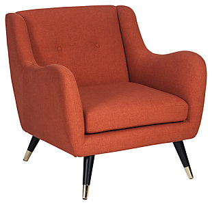 Menga Accent Chair, Adobe, large