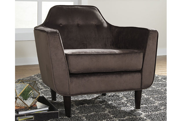 Oxette Accent Chair, Mink, large