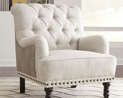 Chair Ivory Taupe Accent Product Photo