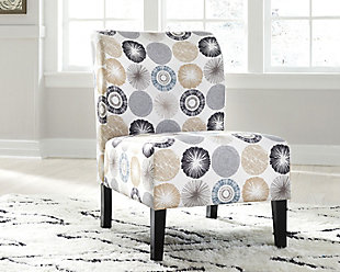 Triptis Accent Chair, Gray/Tan, rollover